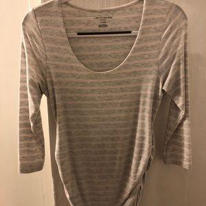 Striped Maternity Tee Shirt